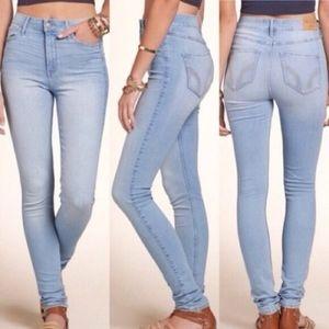 Light Super Skinny Hollister Jeans